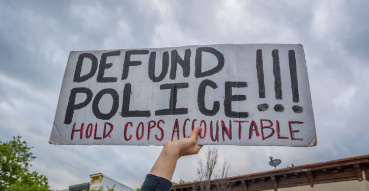 The problem with defunding the police: You can do it only once