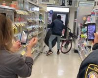 VIDEO: Shoplifter brazenly robs SF Walgreens in front of security guard