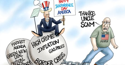 Cartoon of the Day: What a drag by A. F. Branco