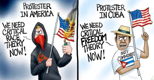 Cartoon of the Day: Let freedom reign by A. F. Branco