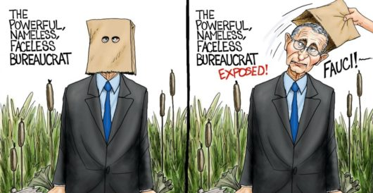 Cartoon of the Day: Swamp creature by A. F. Branco