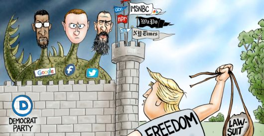 Cartoon of the Day: The Donald vs Goliaths by A. F. Branco