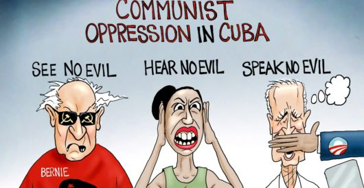 Cartoon of the Day: Love is blind by A. F. Branco