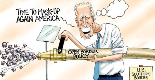 Cartoon of the Day: Superspreader in chief by A. F. Branco