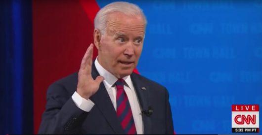 Biden again gives his 'word as a Biden' by Ben Bowles