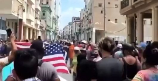 A day in the garden of good and evil: Cuba shouts 'Libertad'; America dances with death by J.E. Dyer