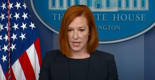 White House is 'a little tired' of people pointing out Biden's border crisis by LU Staff