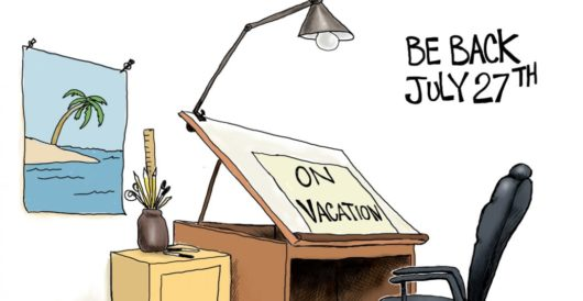 Cartoon of the Day: See ya! by A. F. Branco