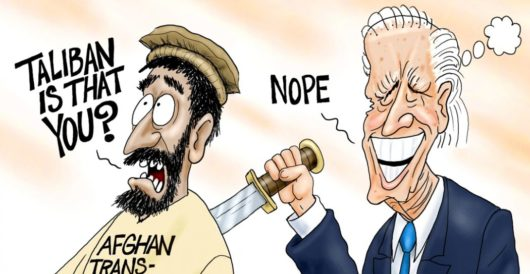 Cartoon of the Day: Guess who? by A. F. Branco
