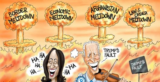 Cartoon of the Day: Burning Man by A. F. Branco