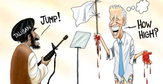 Cartoon of the Day: Surrenderer in chief by A. F. Branco
