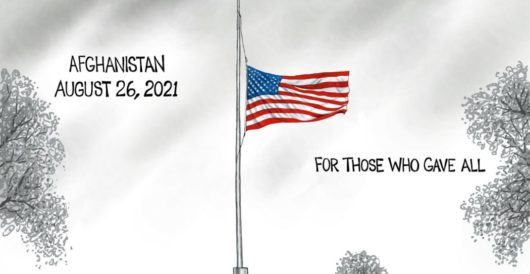 Cartoon of the Day: Mourning in America by A. F. Branco