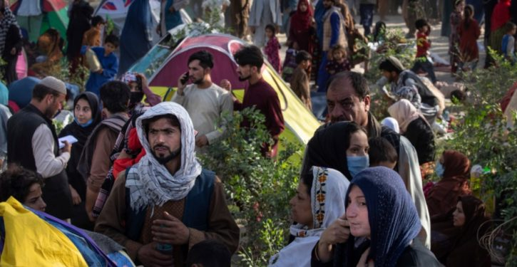 How is the Biden administration vetting Afghan refugees?