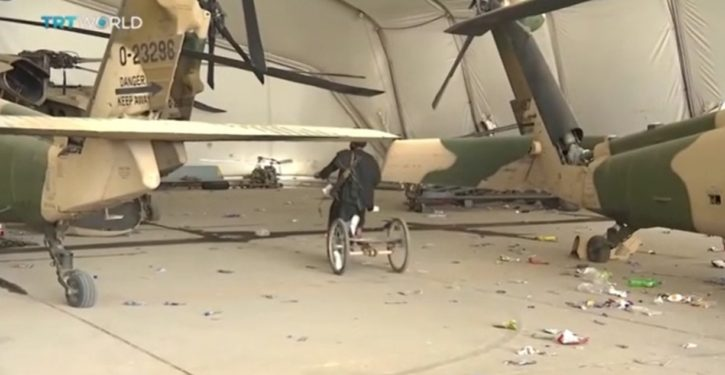 CENTCOM commander: U.S. disabled scores of aircraft before Taliban got them