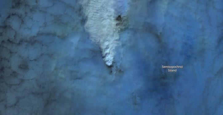 Three Alaska volcanoes now erupting