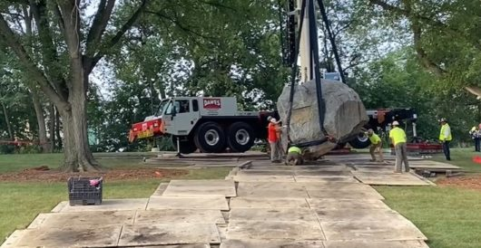 Know what else is racist? A 70-ton boulder by Howard Portnoy