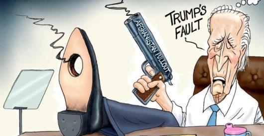 Cartoon of the Day: Ready, aim — blame! by A. F. Branco