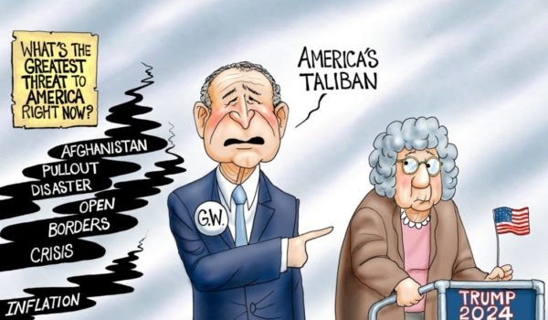 Cartoon of the Day: Oh, the horror! by A. F. Branco