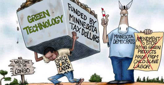 Cartoon of the Day: Price of going green by A. F. Branco