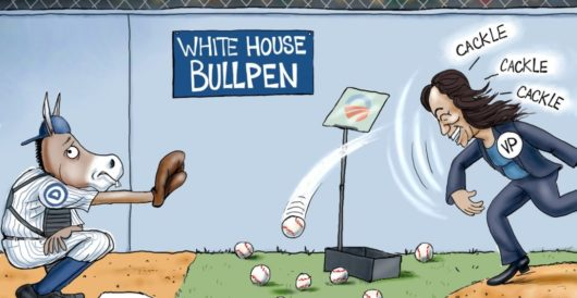 Cartoon of the Day: Out in left field by A. F. Branco