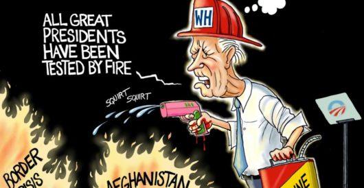 Cartoon of the Day: Fire marshal Joe by A. F. Branco