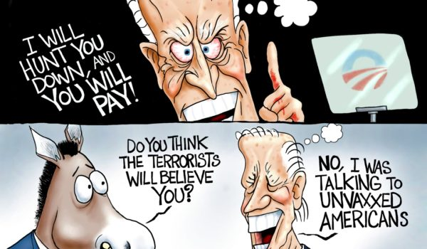 Cartoon of the Day: Great white hunter by A. F. Branco