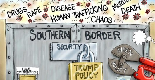 Cartoon of the Day: Breaking and entering by A. F. Branco