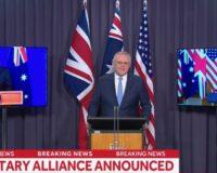 U.S., UK, Australia launch new security partnership with Indo-Pacific focus