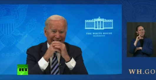 Biden: 'My mind is going blank now' by Ben Bowles