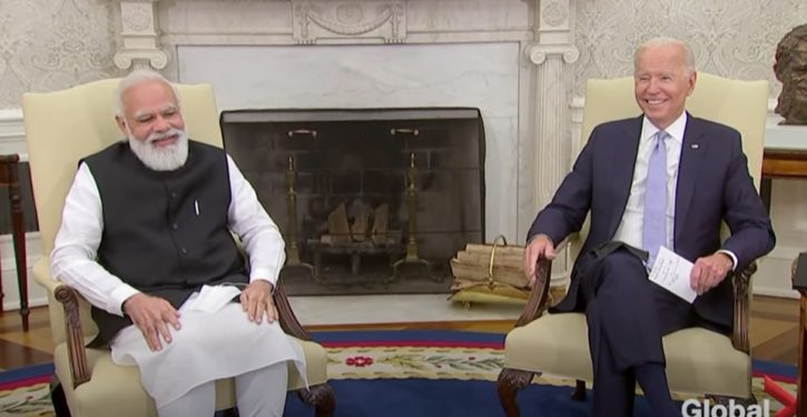 'Indian Bidens': Biden jokes with PM Modi about India tie of ancestral family