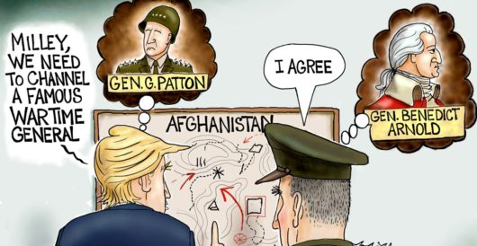 Cartoon of the Day: Chief of Shaft by A. F. Branco