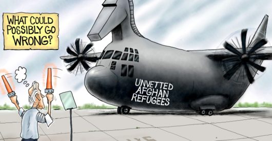 Cartoon of the Day: Flight risk by A. F. Branco