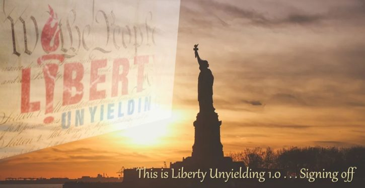 Farewell from Liberty Unyielding 1.0