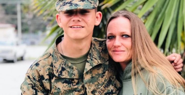 Mom of slain Marine protests as Facebook temporarily removes her Instagram