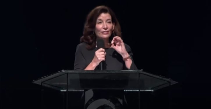 NY Gov. Hochul tells audience unvaxed 'aren't listening to God and what God wants' – UPDATE