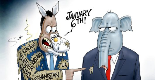Cartoon of the Day: Nose blind by A. F. Branco