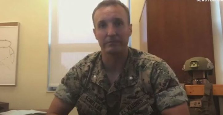 Jailed Marine Lt. Col. proffered honorable resignation in August but was rejected