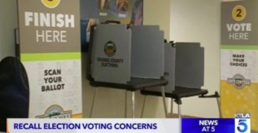 CA Republicans try to vote at polling place, told they've 'already voted' by Guest Post