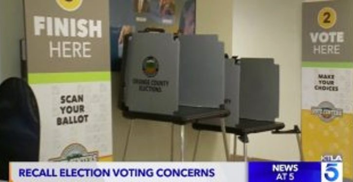 CA Republicans try to vote at polling place, told they've 'already voted'