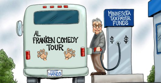 Cartoon of the Day: No laughing matter by A. F. Branco