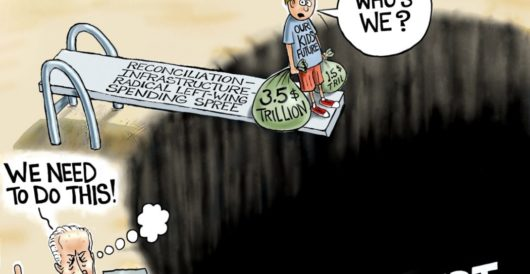 Cartoon of the Day: Sacrificial Lamb by A. F. Branco