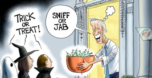 Cartoon of the Day: Nightmare on Pennsylvania Ave. by A. F. Branco