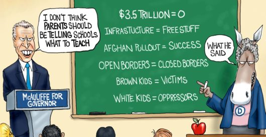 Cartoon of the Day: Kids at risk by A. F. Branco