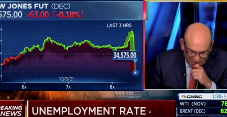 'Wow!': CNBC Hosts Can't Hide Their Reaction To 'Real Low' Jobs Numbers