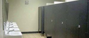 Girl expelled from school after kneeing boy in the groin in girls' bathroom