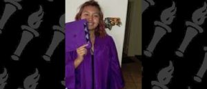 American Indian student protests after she is barred from wearing tribal cap to graduation