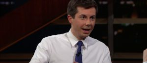 As polling numbers climb, Buttigieg emphasizes his military service