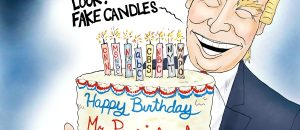 Cartoon bonus: Happy Birthday, Mr. President!