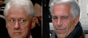 Photos of Bill Clinton and Jeffrey Epstein vanishing; fake photos of Trump and Epstein appearing