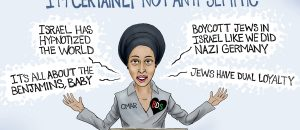 Cartoon of the Day: Not anti-Semitic?